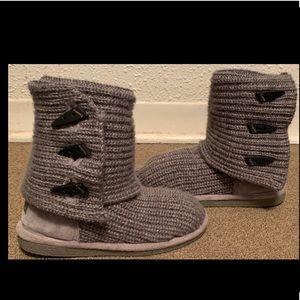 Women's Knit BearPaw Boots Size 7